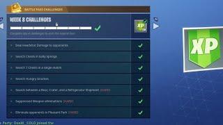 "NEW ""Playground"" GAMEMODE UPDATE! - Fortnite Week 8 Challenges! (Fortnite Battle Royale Week 8 Live)"