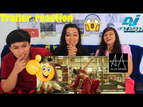 DJ Duvvada Jagannadham Trailer Reaction - Allu Arjun - ASKD Reaction