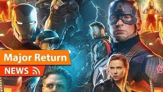 Major MCU Character Returns in Avengers Endgame