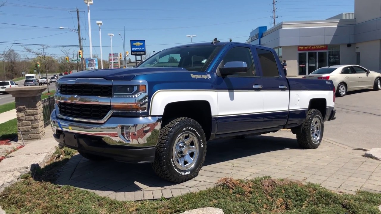 Two Tone Chevy Truck 2018