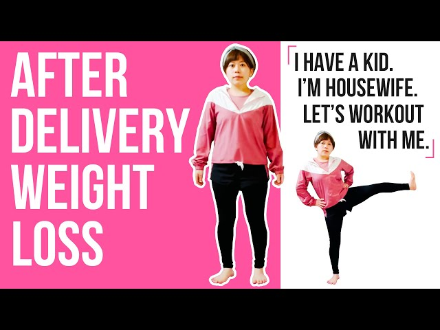 After delivery housewife weight loss workout! 産後主婦が痩せる運動!