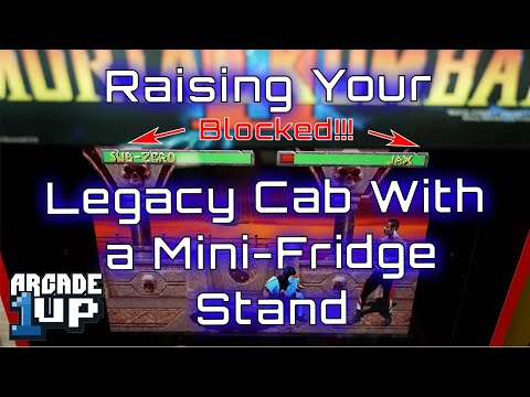 A Geocab Quickie - Raising Your Arcade1Up With a Mini-Fridge Stand from The Geocab