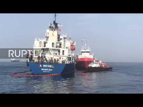 UAE: Two Saudi oil tankers amongst four ships allegedly 'sabotaged' in Persian Gulf