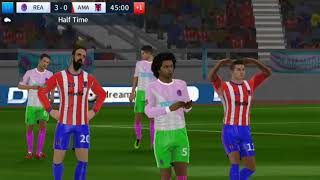 Real Madrid vs A Madrid   Dream League Soccer 2018   Android Gameplay #98