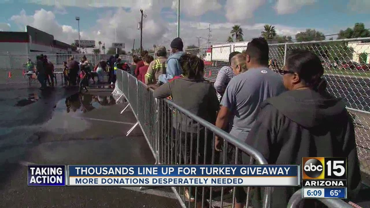 St Mary S Food Bank Turkey Giveaway