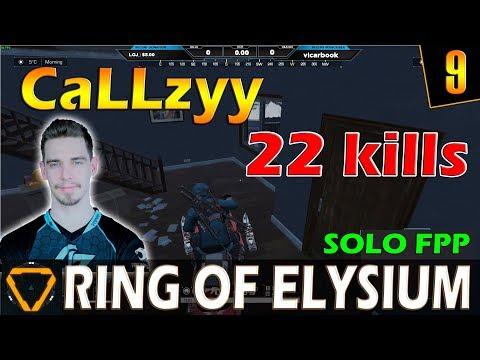 CaLLzyy   22 kills   ROE (Ring of Elysium)   G9