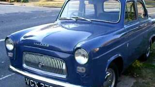 OUR 1958 FORD PREFECT 100E CLASSIC CAR  1172cc WESTMINSTER  BLUE