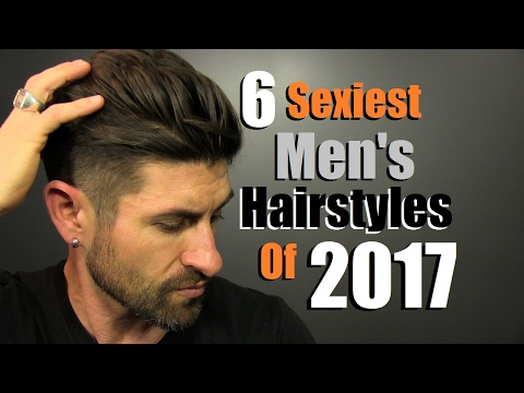 6 Sexiest Men's Hairstyles Of 2017