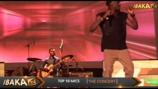 Tuface Performing 'DANCING IN THE RAIN' @ Top10Mics
