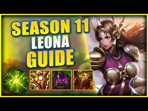 THE COMPLETE SEASON 11 CHALLENGER LEONA GUIDE (RUNES, ITEMS, & LANING) - League of Legends
