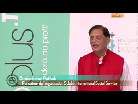 Bindeshwar Pathak, fondateur de l'organisation Sulabh International Social Service