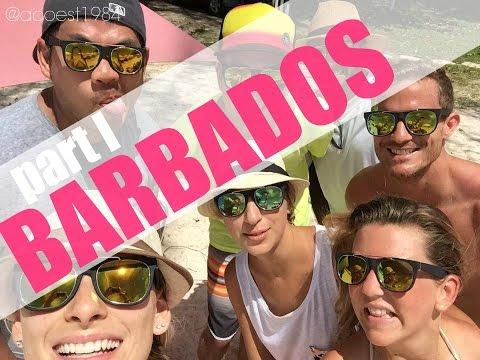 TRAVEL VLOG | Barbados PART I  (Southern Marsh, Dover Beach, Oistins, Chefette +more)