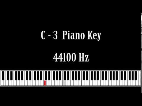 C- 3 Piano Key Note Sound Effect Free High Quality Sound FX