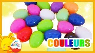 Compétition des couleurs Disney - Apprendre les couleurs - Touni toys