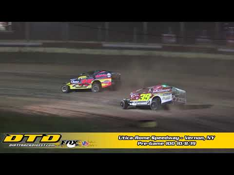 Utica-Rome Speedway Pre-Game 100 Highlights 10/8/19