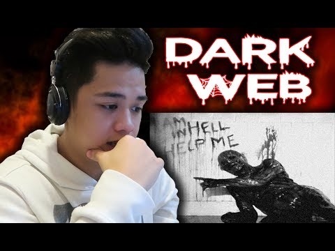 Ang DARK WEB **scary videos on dark web reaction**