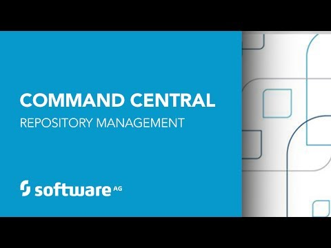 Command Central Repository Management