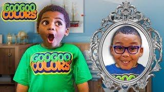 Goo Goo Gaga & Magic Mirror! (Kids Shop at Store and Play at Playground)