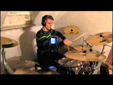 Anton Ritter - Drum Cover - Billy Talent - Running Across The Track