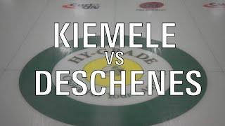 2020 U21 - Kiemele vs Deschenes