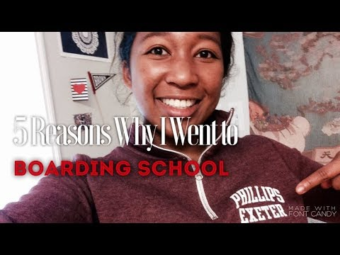 The 5 Top Reasons Why I Went To Phillips Exeter Academy | Why Did I Go To Boarding School?