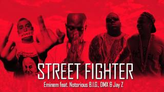 Eminem feat.  Notorious B.I.G. DMX & Jay Z (New Song 2016) - Street Fighter