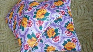 Подушка для сна(В видео показано как сшить подушку для сна размером 50х70 см. Лучшая ткань для чехла подушки - тик. При помощи..., 2014-09-18T20:15:07.000Z)