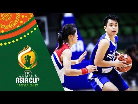 HIGHLIGHTS: Perlas Pilipinas vs. North Korea (VIDEO) FIBA Women's Asia Cup 2017