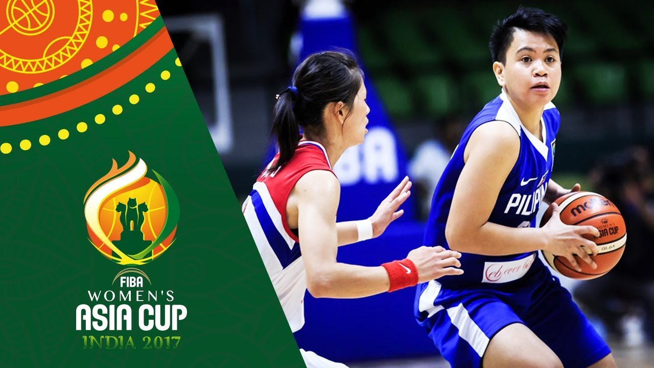 DPR of Korea v Philippines - Highlights - Classification 5-6 - FIBA Women's Asia Cup 2017