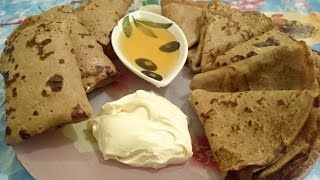 Блинчики рецепт гречневые блины из гречневой муки на молоке как приготовить гречишные блины вкусно