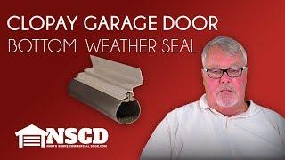 Clopay Garage Door Bottom Weatherseal