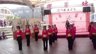 CATCH THE RAIN linedance 2010 Taipei International Flora Exposition .MP4