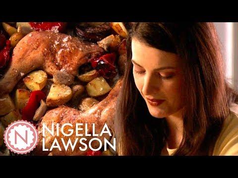 Nigella Lawson's One Pan Chicken Dinner | Nigella Bites