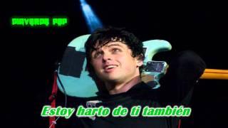 Green Day- Sick Of Me- (Subtitulado en Español)