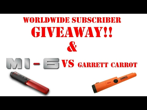 XP DEUS V4.0, MI-6 VS Garrett AT PRO Pinpointer!  FIRST SUBSCRIBER Contest! Pairing your MI6 to V4.