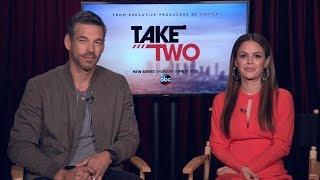 Eddie Cibrian and Rachel Bilson talk about new crime series 'Take Two'