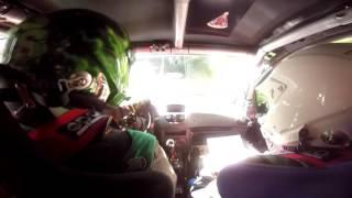 Onboard Fabio Simsen Gilson Rocha - Início SS1- Rally de Pomerode 2016