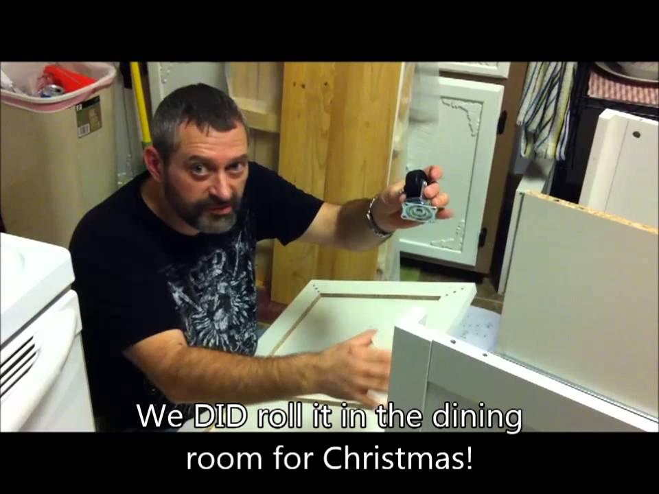 Kitchen Island Assembly Youtube