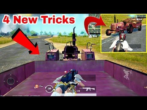 PUBG Mobile Top 4 New Tricks/Glitches | Nobody Know This Amazing PUBG Mobile Glitch