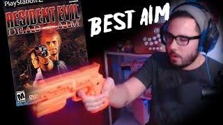 The Best Aim   Resident Evil Dead Aim w/ Light Gun!