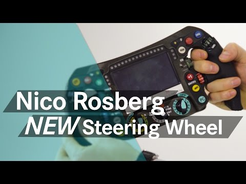 Unboxing F1: Nico Rosberg's new 2016 steering wheel