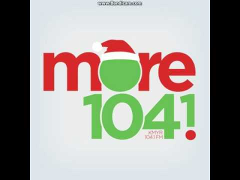 25 Days of Christmas Radio 2016 EXTRA: KMYR More 1041 Station ID December 3, 2016 5:00pm