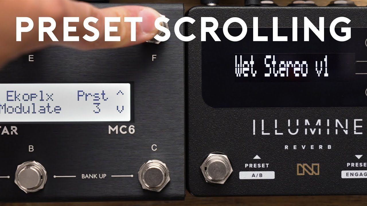 Scroll through Presets on Any Pedal with MIDI: PC Number Scroll Feature