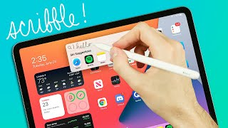 The ONE iPadOS 14 Feature That Matters | Apple Pencil + Scribble! (2020)