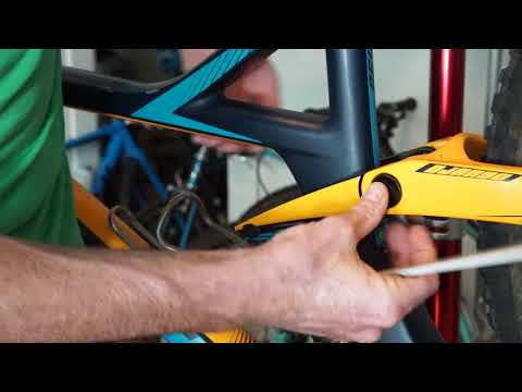 Flipping the Geometry Chip on The Devinci Django 29