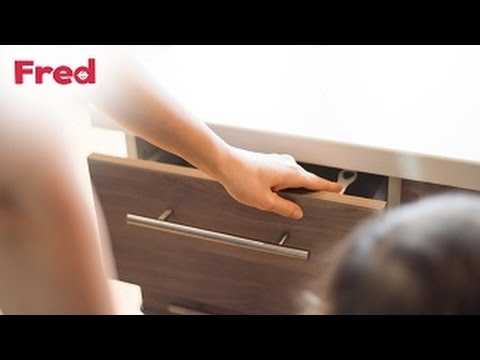 Watch the Fred Adhesive Top Drawer Catch you-can-do-it video here