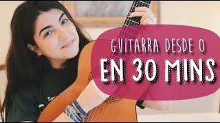 ¡Aprende a tocar la GUITARRA en 30 minutos! | El tutorial más fácil para principiantes