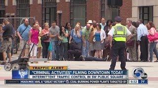6 AM: Criminal Activities filming closes street