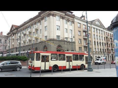 trolleybuses in Vilnius