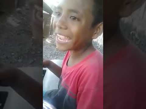 Young Children From Timor Leste with  his English Slang Language 😂😂
